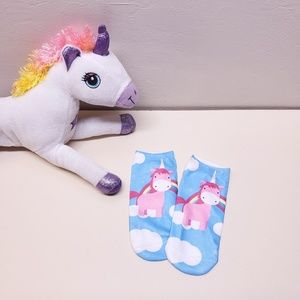 Accessories - Unicorn Rainbow Cloud Socks (2/$20)